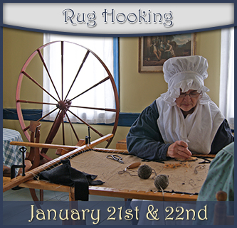 Rug Hooking at Ross Farm