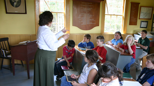 Ross Farm Museum School Program