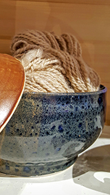 Sun Porch Pottery - Yarn Bowl
